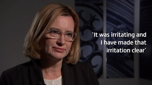 Home Secretary Amber Rudd confirmed she complained about an earlier key leak from the investigation.