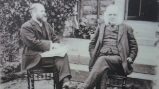 Canon Rawnsley with Rupert Potter, father of Beatrix Potter