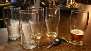 Two people admitted drink driving.