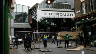Borough Market remains behind barriers but will reopen this weekend