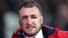 Stuart Hogg pictured today