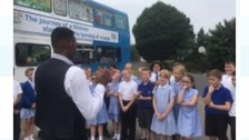 "Des joins primary school pupils in Solihull for the latest in our ""School Stories"" series"