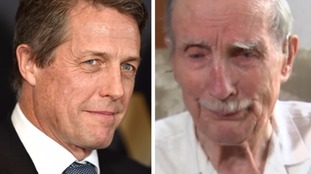 Hugh Grant responded a day after Alfred Barlow's heartbreaking appeal.