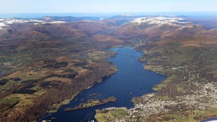 Windermere is one of the Lake District's most well known lakes.
