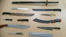 Knives handed into Cleveland Police