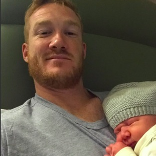 Rutherford recently became a father for the second time.