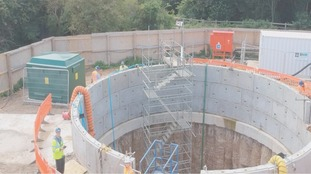 A £60m pound project is underway to improve water and waste services in Newark.