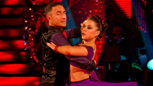 Dani Harmer Voted Off Strictly Come Dancing Itv News