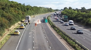 Major delays on the M5 following a fatal crash