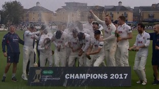Essex have lifted cricket's county championship trophy for the first time in 25 years after thrashing Yorkshire in Chelmsford.