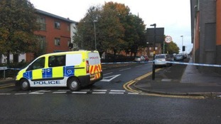 A cordon remains in place whilst specialist teams carry out forensic investigations.