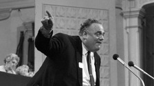 Cyril Smith addressing a meeting in 1971.