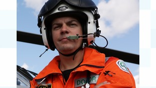 Dr Simon Le Clerc of the Great North Air Ambulance Service.