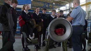 Hopes that a pupils' day at RAF Marham will help keep the UK at the frontline of engineering