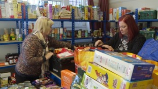 The Paignton Community Larder is accepting donations and hopes to be ready to distribute food parcels by next month.