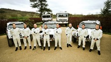 Race2Recovery crew members at a photocall in November