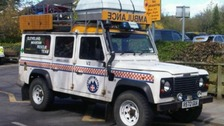Library Picture: Cleveland Mountain Rescue Team vehicle.