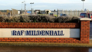 Man detained after US forces open fire at RAF Mildenhall