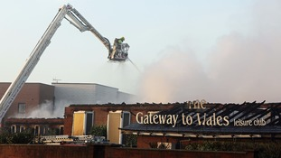 Investigation launched into Deeside hotel blaze