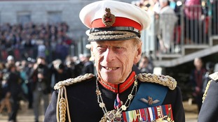 Duke of Edinburgh hands over Royal Marines role to Prince Harry