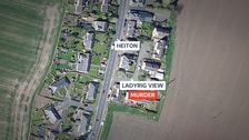 Two bodies were found at a property on Ladyrig View in Heiton