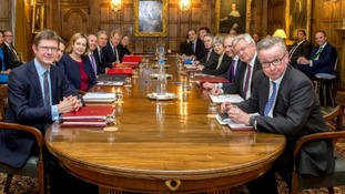 Ministers met for a much touted 'war Cabinet' at Chequers