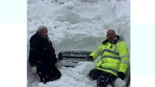 Your pictures: Snowbound in and around Exmoor