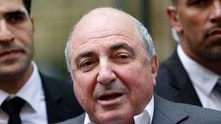 Boris Berezovsky was founded hanged in his home in 2013.