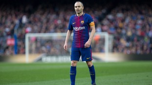 Iniesta still unsure about Barcelona future in the summer