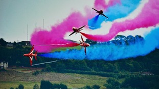 The Red Arrows will headline the Great Yarmouth Air Show.