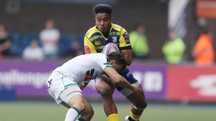 Cardiff Blues reach Challenge Cup final with narrow win over Pau