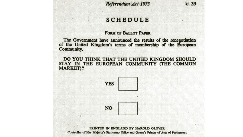 the 1975 european referendum in pictures