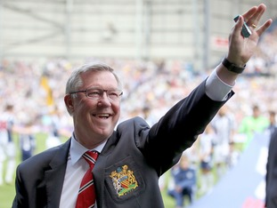 Sir Alex Ferguson in 2013