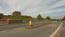 It is believed the driver gave the victim a lift to the Carlisle Castle Area.