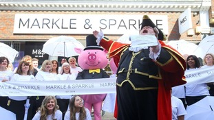 The Windsor branch of Marks & Spencer changed its name to Markle & Sparkle for the weekend of the Royal Wedding.