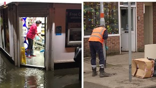 Northampton flooding: Clean up underway after dozens of homes and businesses damaged