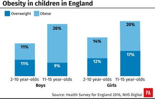 Obesity in children in England