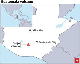 The Volcano of Fire is one of Central America's most active.