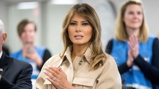 Melania Trump has urged the administration to 'govern with heart'.