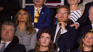 Thomas Markle said Prince Harry told him 'to give Trump a chance'. Harry met the president's wife at the Invictus Games in 2017.