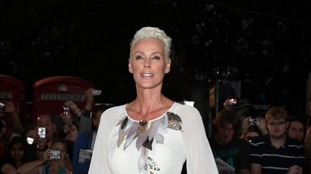 Brigitte Nielsen and her partner said they were 'overjoyed' at the birth of their daughter