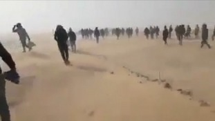 Catastrophe warning as Algeria 'abandons 13,000 migrants' in Sahara