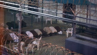 Many captives from the war on terror were held at Guantanamo Bay.