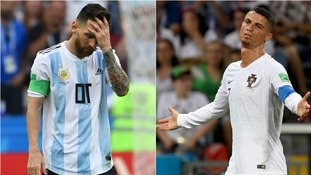 Ronaldo follows Messi as Argentina and Portugal are knocked out of World Cup in last 16