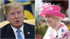 Donald Trump's visit to the UK will be spent largely outside of the capital, but he will meet the Queen.