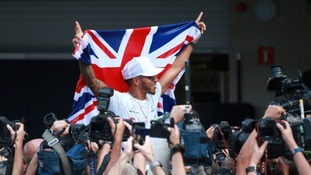 Lewis Hamilton has signed a new contract.
