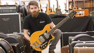George Harrison guitar from last Beatles Cavern Club gig to be auctioned