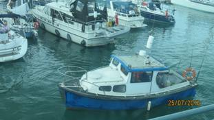 The Boat With No Name in Ramsgate.