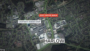 The man was stabbed in an underpass near Post Office Walk in Harlow