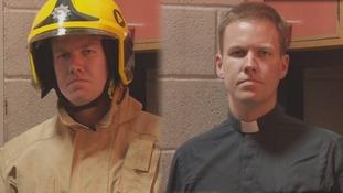 Vicar fights the good fight- and local fires